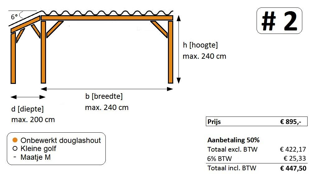 woody-woody fietsenhokken prijs aanbetaling versie 2